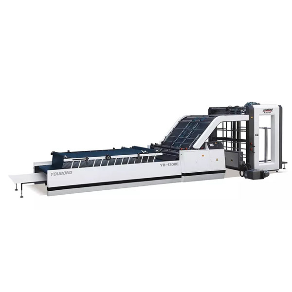 YB-1300E/1450E/1650E Automatic Flute Laminating Machine